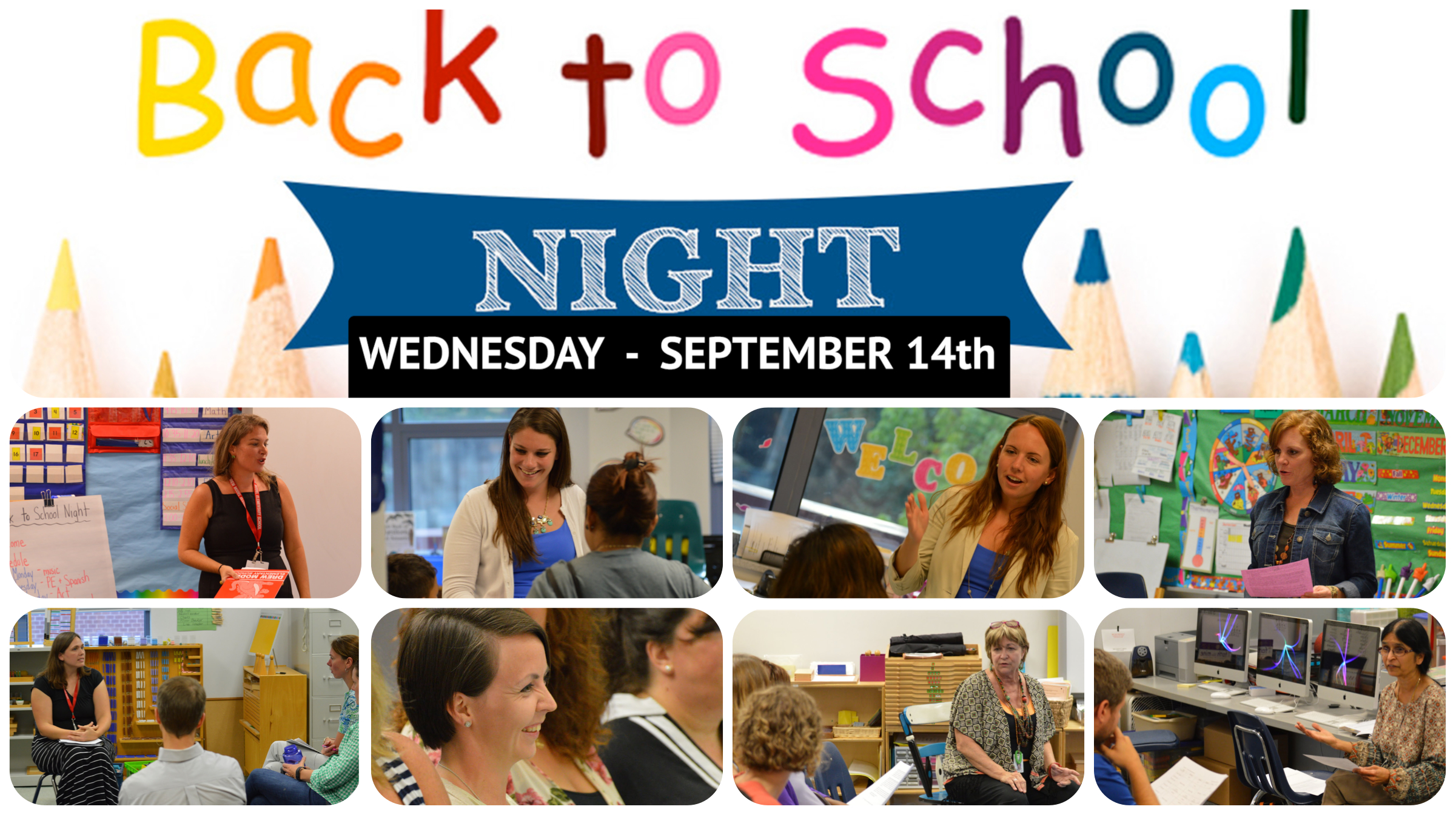 Back to School Night Coming!