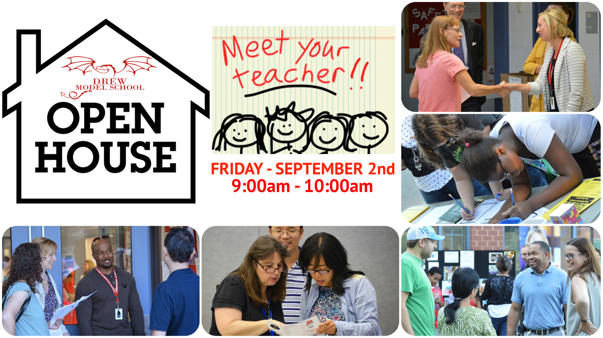 Join Us at Drew's Open House!