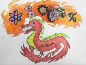 2018 steam t shirt logo