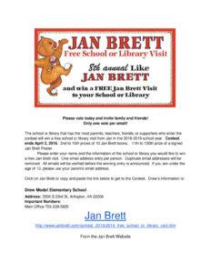 2018 jan brett flyer information
