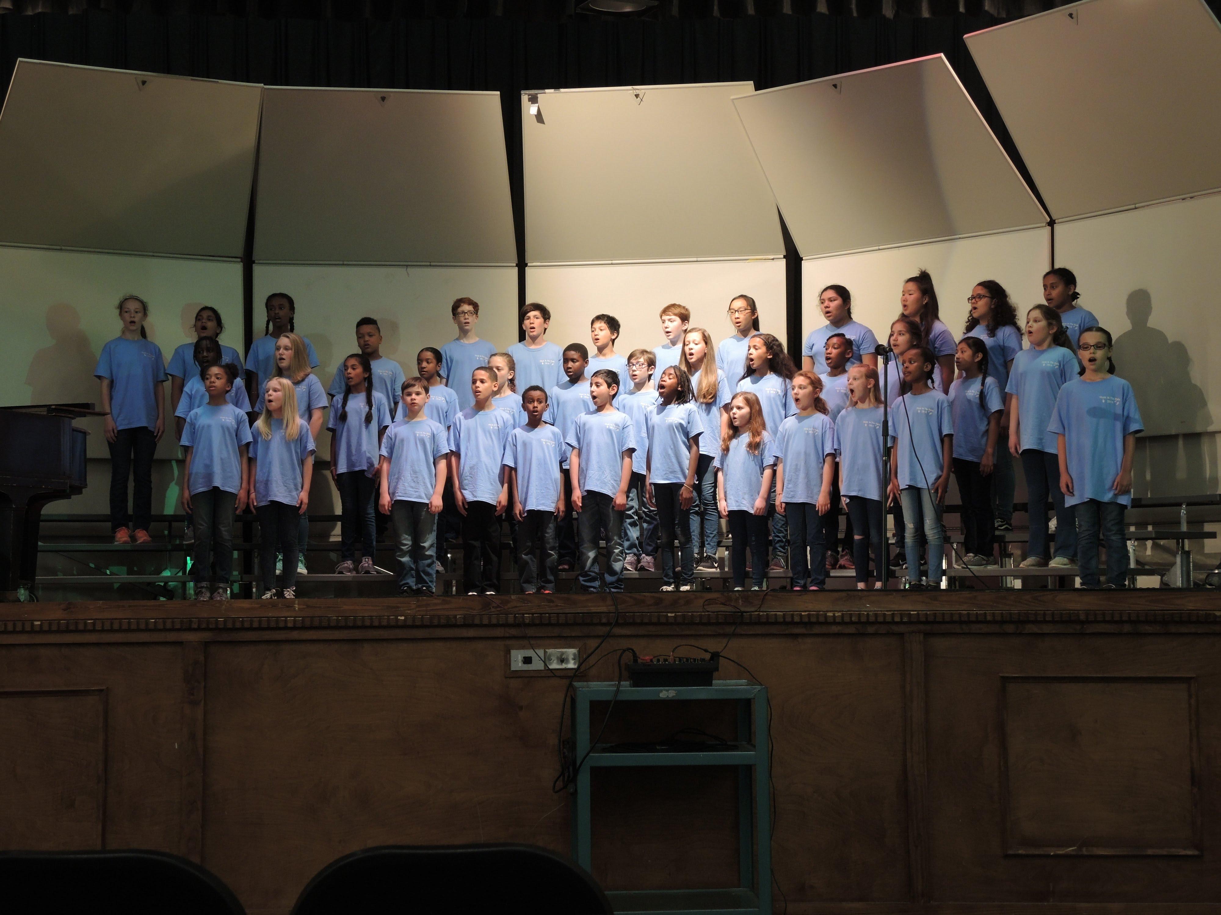 Drew Choir Wins 1st Place!