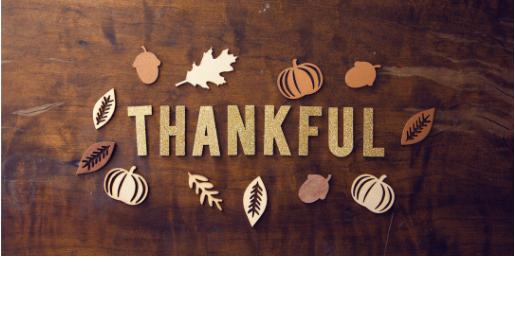Thanksgiving Break – November 21st – 23rd