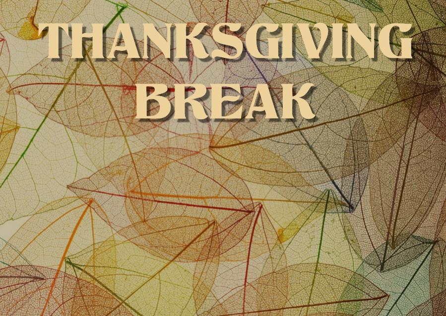 School Closed – November 27th, 28th & 29th