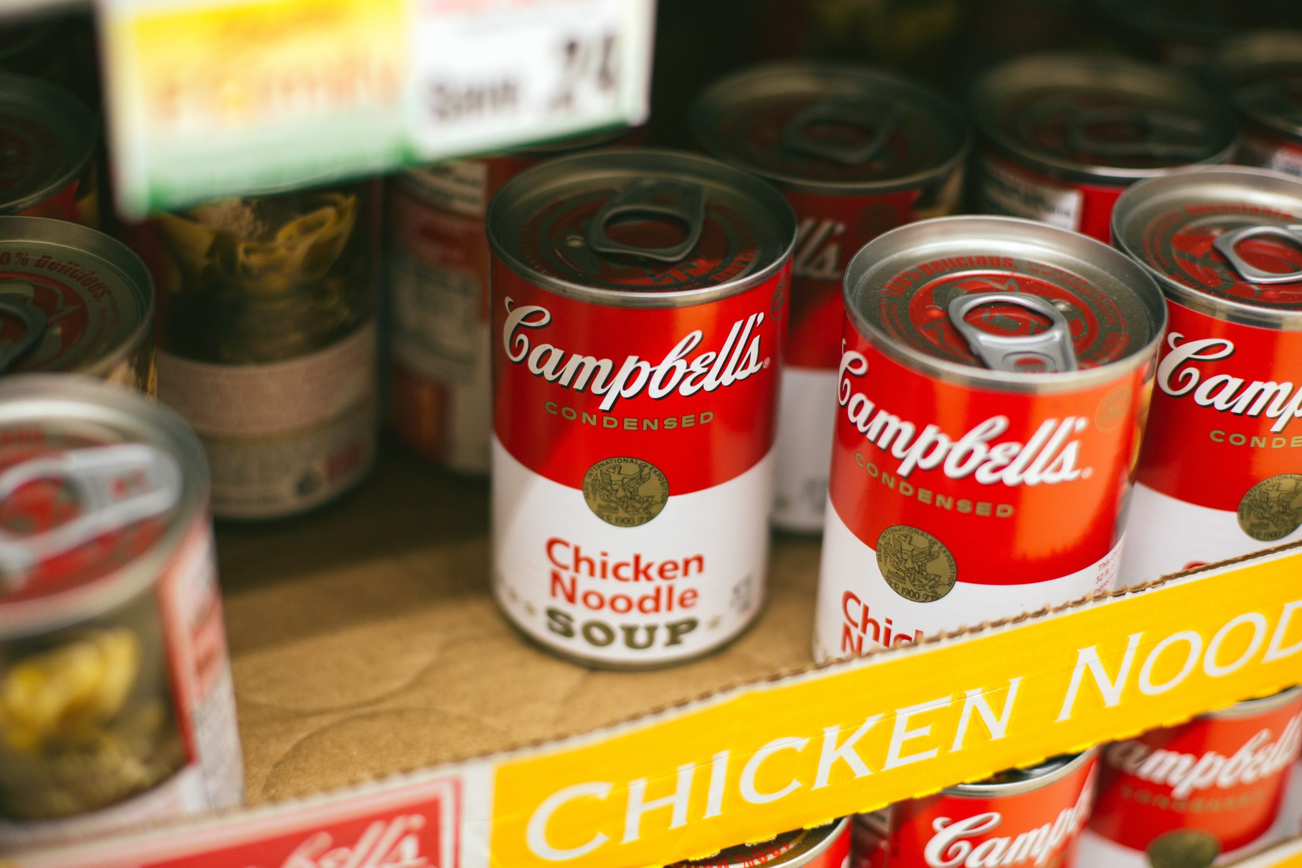 Canned Soup Food Drive – Monday, January 27th til Friday, February 7th