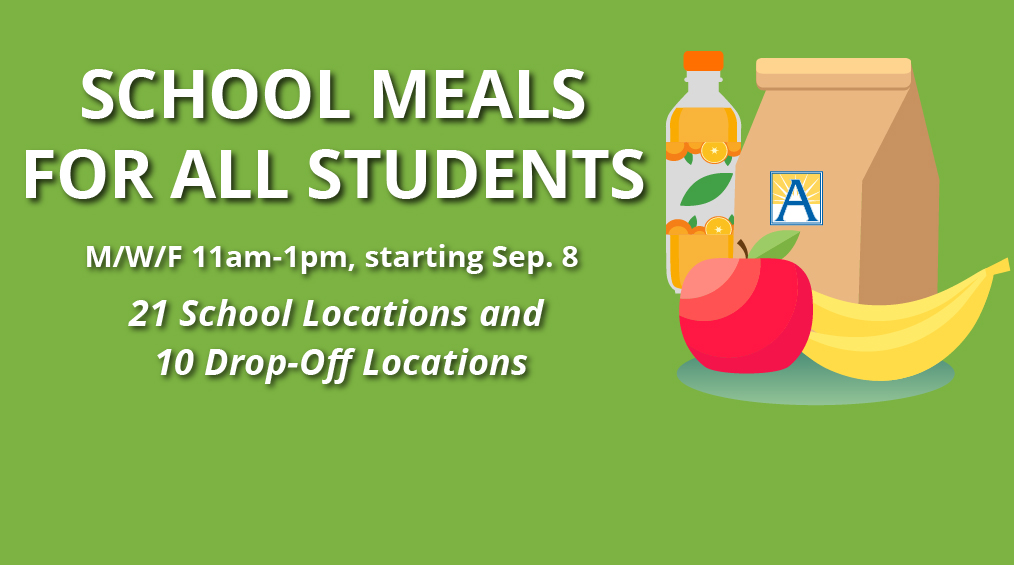 APS School Meals 2020-2021 // Comidas escolares de APS 2020-2021