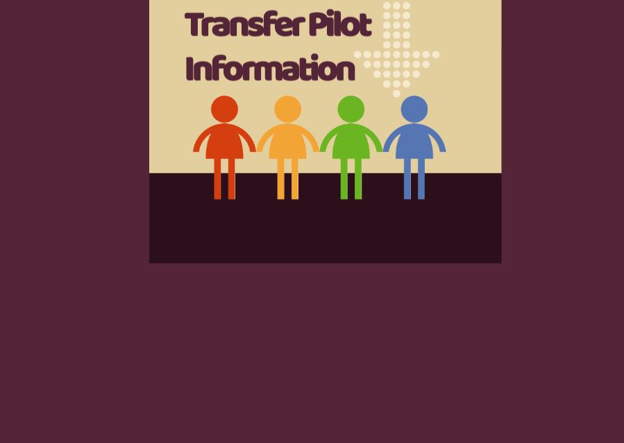 2021 – 22 Abingdon-Drew Transfer Pilot Information